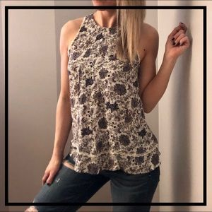 🔥5 for $35🔥 AEO Gorgeous Floral Boho Tank Top